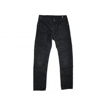 Женские черные вельветовые брюки для девочки H&M
