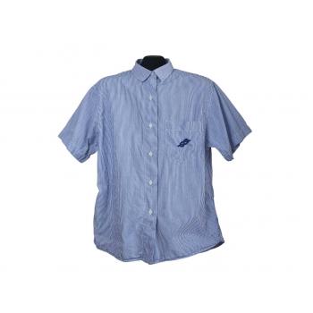 Мужская синяя рубашка в полоску PUTNEY`S, М