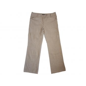 Женские бежевые вельветовые брюки H&M, М