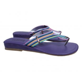 Женские фиолетовые босоножки вьетнамки SHOE TAILOR 39 размер