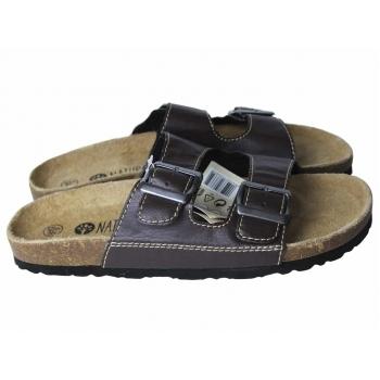 Мужские кожаные сандалии LIVERGY 43 размер