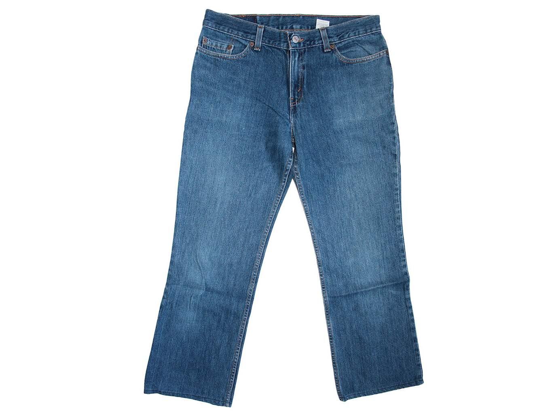 Женские прямые джинсы LEVIS 518, L