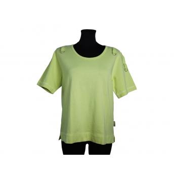 Женская футболка желтого цвета CARBONE