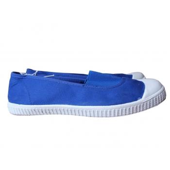 Слипоны женские синие WOMEN ONLY 38 размер