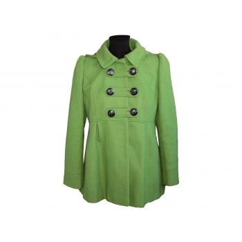 Женское зеленое демисезонное пальто NEXT