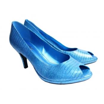 Женские голубые туфли VICTORIA SPENCER 39 размер