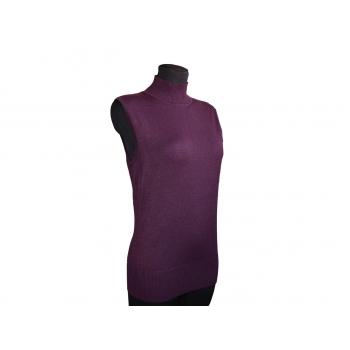 Женская фиолетовая кофта безрукавка BIAGGINI, М