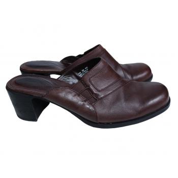 Женские кожаные туфли CLARKS 38 размер
