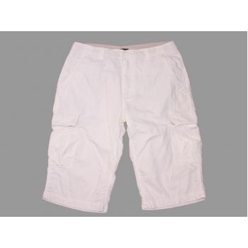 Мужские белые льняные шорты NEW ROADS CARGO W 34