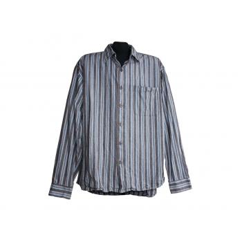 Мужская серая рубашка в полоску WEEKENDZ OFF, XL