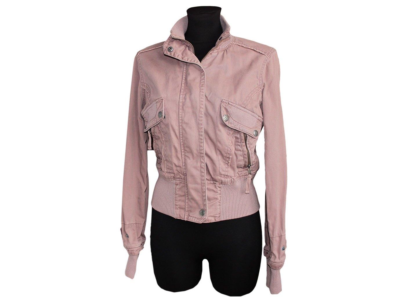 Женская коричневая куртка весна-осень MOTO, M