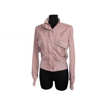Женская коричневая куртка весна - осень MOTO