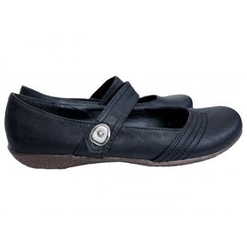 Туфли кожаные женские черные EXPANDER 37 размер