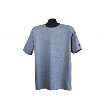 Мужская серая футболка SIGNUM, L