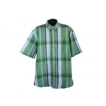 Рубашка мужская зеленая в клетку LERROS, XXL