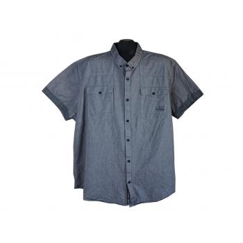 Рубашка мужская серая ANGELO LITRICO URBNDIST, 3XL