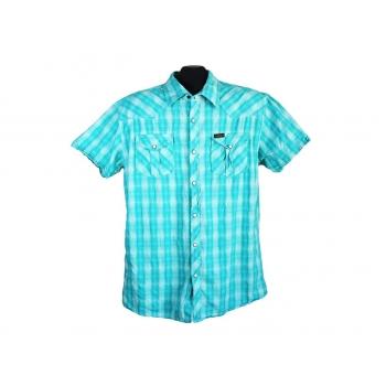 Тенниска мужская голубая в клетку SCOTCH&SODA, L