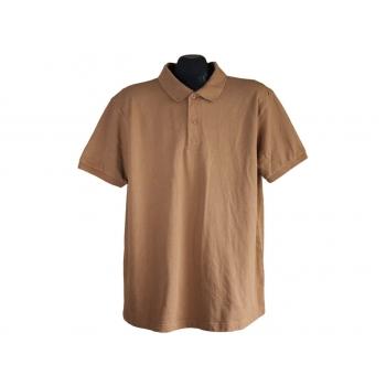 Мужское коричневое поло PRIMARK REGULAR FIT, L