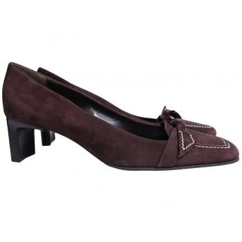 Туфли женские замшевые BALLY 39 размер