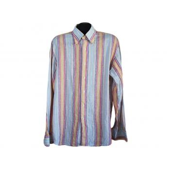Рубашка мужская льняная BAGARINY