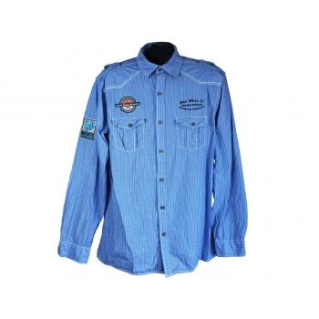 Рубашка мужская голубая F&F BLUE, L