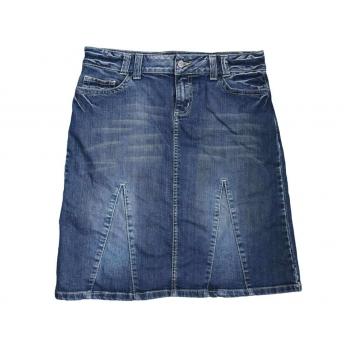 Джинсовая женская юбка миди S.OLIVER