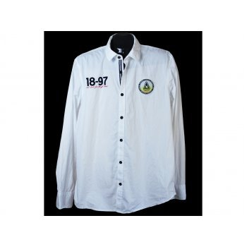 Рубашка мужская белая GAASTRA sport, L