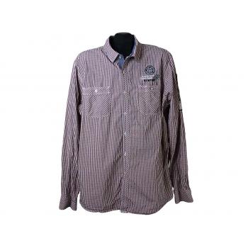 Рубашка мужская в клетку CAMP DAVID, XL