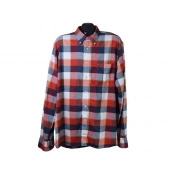 Рубашка мужская в клетку TOMMY HILFIGER, XL