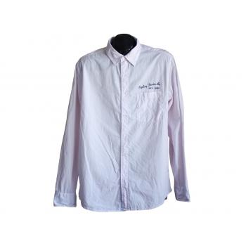 Рубашка мужская розовая REPLAY, L