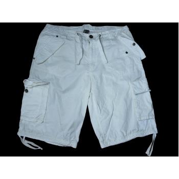 Шорты карго мужские белые DELUXES W 34