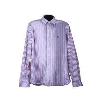 Рубашка мужская в полоску NEXT, L