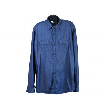 Рубашка мужская джинсовая S.OLIVER, XL
