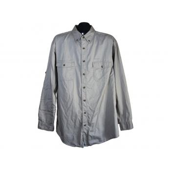 Рубашка мужская однотонная CAMPUS, L