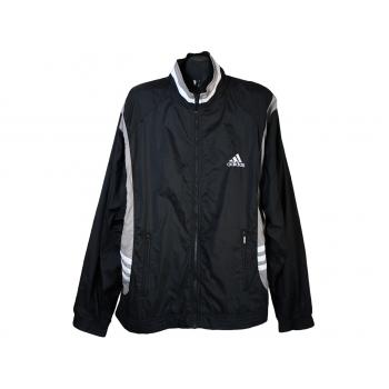 Спортивная мужская черная мастерка ADIDAS, 3XL
