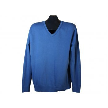 Пуловер синий мужской BURTON, L