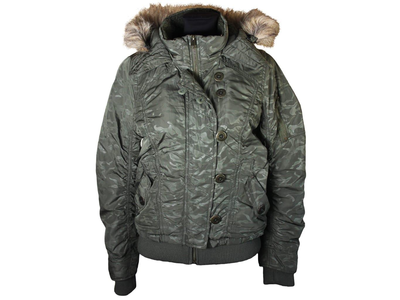 Куртка женская осень зима с капюшоном FISHBONE, S