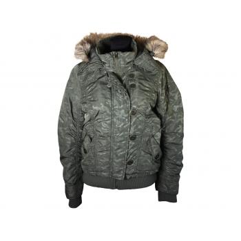 Куртка женская осень зима с капюшоном FISHBONE