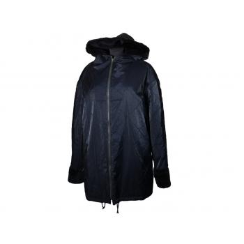 Женская куртка большого размера с капюшоном, XXXL