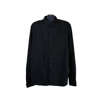 Рубашка черная мужская YES or NO, L