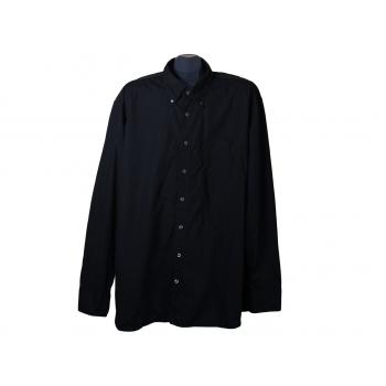Рубашка черная мужская BUGATTI, XXL