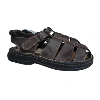 Мужские коричневые сандалии FADED GLORY 40 размер