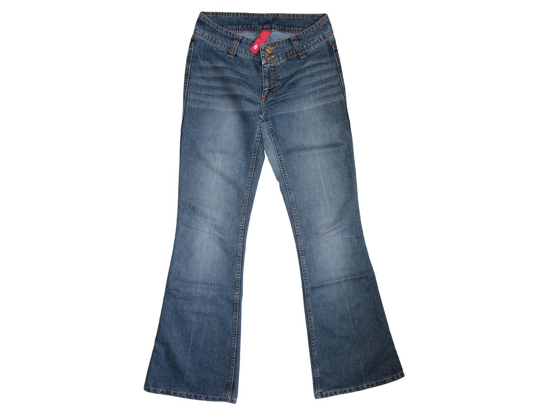 Женские недорогие джинсы клеш H&М