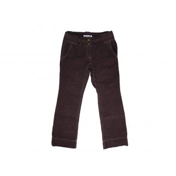 Женские коричневые вельветовые брюки TOMMY HILFIGER, S