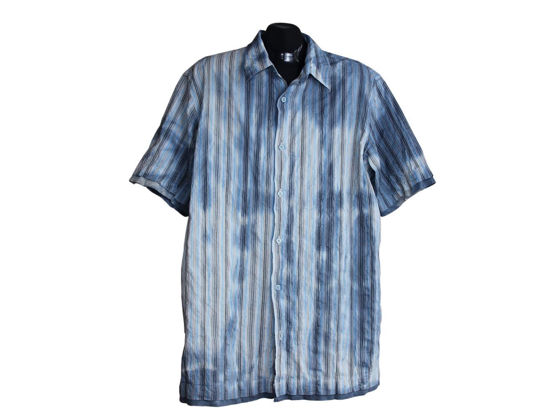 Мужская рубашка в полоску ANGELO LITRICO, XL