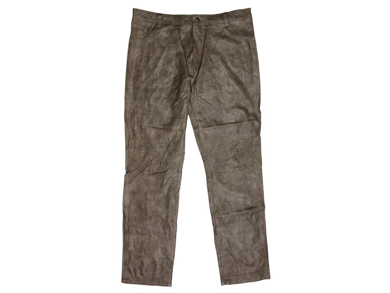 Мужские кожаные брюки купить