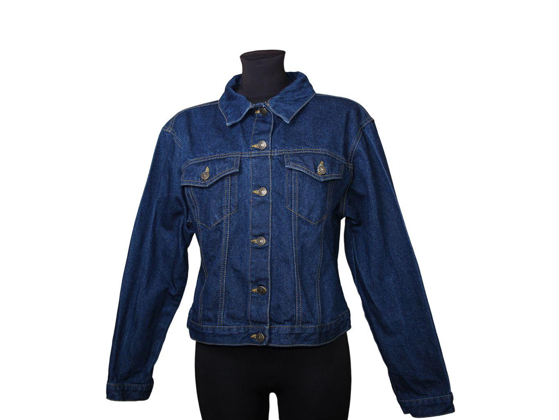 Женская синяя джинсовая куртка ORIGINAL CLOTHING, XXL