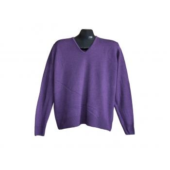 Свитер шерстяной фиолетовый женский MARKS & SPENCER, XL