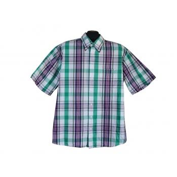 Рубашка мужская в клетку LORENZO CALVINO, XL