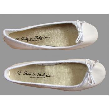 Женские белые балетки ATMOSPHERE 36 размер